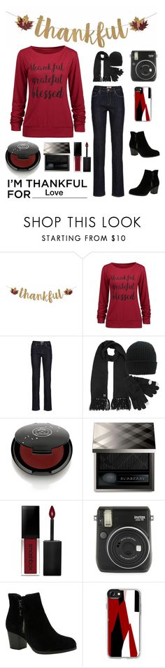 """""""Untitled #5895"""" by im-karla-with-a-k ❤ liked on Polyvore featuring Rituel de Fille, Burberry, Smashbox, Fuji, Skechers and Casetify"""