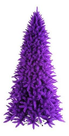 Purple tree – if I EVER ran into an opportunity to purchase a purple christmas tree, I know I would so buy it. I could NOT control myself. The things that make me happy Purple Love, All Things Purple, Shades Of Purple, Light Purple, Deep Purple, Pink Purple, Purple Stuff, Purple Bed, Purple Boots