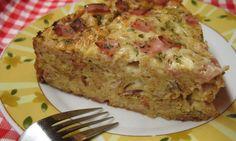 Hleb torta sa sirom i šunkom | Recept