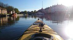 Kayaking in Vänern, Åmål, Sweden 15/5 2015