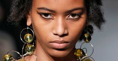 Milan Fashion Week Bold Hair Makeup Looks Colors