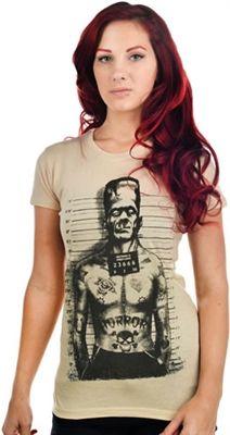 BABYDOLL T-SHIRT - TATTOOED MONSTER - #goth #gothic #punk #punkrock #rockabilly…