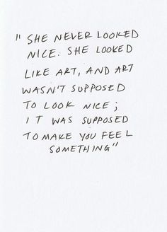 Such powerful words. Being beautiful is overrated. It shouldn't be that one type of person is beautiful. Or because they look a certain way to everyone. It should be how they look to you. And how that makes you feel inside. That's what true beauty should be. But society will swallow anyone who tells it so.