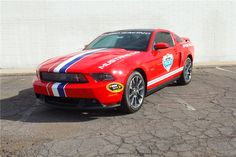 Available* at Scottsdale 2017 - Lot #742 2011 FORD MUSTANG DAYTONA 500 PACE CAR