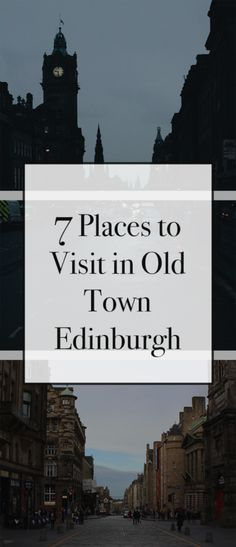 7 Places to Visit in Edinburgh – Une Cherette