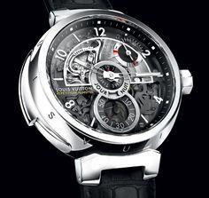 Louis Vuitton Tambour Minute Repeater  @Louis Vuitton