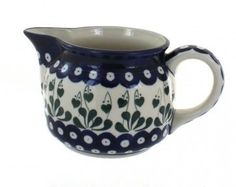 Polish Pottery Alyce Small Pitcher *** Be sure to check out this awesome product.(This is an Amazon affiliate link and I receive a commission for the sales)