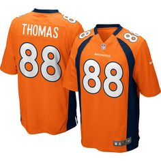 Nike Youth Home Game Jersey Denver Demaryius Thomas  88 31223aa99