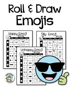 Emoji Drawing & I Statement Writing - students will have a blast designing their own emojis.