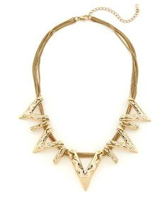 High Line Necklace - Gold