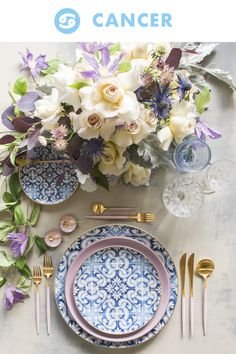 12 Zodiac-Inspired Table Settings To Celebrate Your Birth Month And Beyond