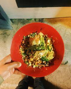 "Reporting live from Don Ramen for Chef @adriamarina  @chefandreamartinez's ""Palomazo"" at Tijuana's Telefónica Gastropark.  These noodles though... #Tijuana  _________________________  #offthebittenpath  #TJTQ  #fromabove  #BajaCalifornia  #bunkfoodtj  #Mexico  #bunkfood  #EEEEEATS"