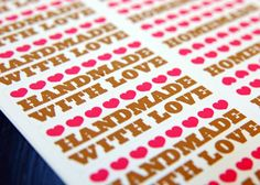 Etsy Labs Archive: Tip of the Day: Make stickers.
