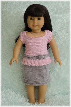 American Girl Chain Stitch Top and Skirt | Craftsy