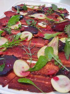Beefsteak carpaccio