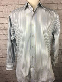 M 33 CHARCOAL Ed Garment Mens Long Sleeve Non Iron Dress Shirt