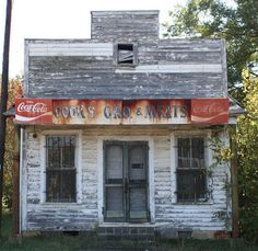 Cook's Gro. & Meats - Abandoned Grocery Store in Mooresville, NC.