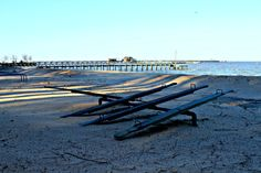 Sea-Saws Fairhope Beach morning play of light - Photo by SFG
