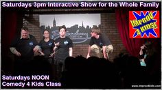#Improv 4 #Kids Today at 3pm. Discount tickets at www.8improv.com at the #Broadway #Comedy #Club