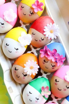 Pool Party Eggs - Ostern Dekoration - Ostern Basteln