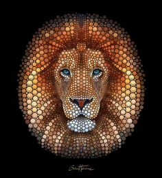 Image result for beautiful dot painting