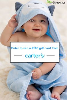 Win a Carters gift card from fatwallet