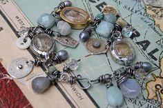 Reliquary bracelet, Something Sublime, Deryn Mentock