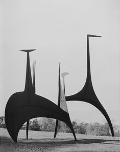'Large Spiny' (1966) by American artist & sculptor Alexander Calder (189-1976). Photographed by Charles Uht for a Rockefeller Collection catalog. ty wish! via Devin Campbell