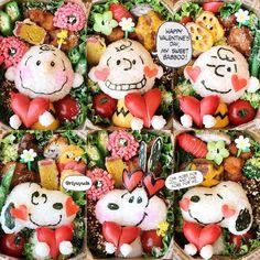 想いとおいしさを詰めちゃおう!愛情いっぱい #バレンタイン #弁当|#おうちごはん Cute Lunch Boxes, Bento Box Lunch, Easy Meals For Kids, Kids Meals, Bento Kids, Japanese Food Art, Kawaii Bento, Food Art For Kids, Bento Recipes