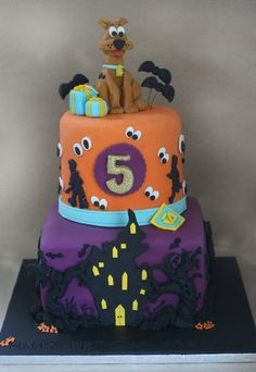 Image detail for -Scooby Doo cake - by ClaresCupcakesLondon @ CakesDecor.com - cake ...