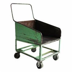 We could think of so many ways to use this American Vintage Industrial Rolling Cart