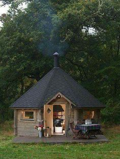 as a camping house!!