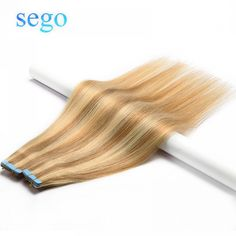 SEGO 12 Straight Tape In Human Hair Extensions Non-remy On Adhesive Invisible PU Skin Seamless Weft Hair Extension Clip In Extensions, Hair Extensions Prices, Weft Hair Extensions, Virgin Hair Extensions, Human Hair Clip Ins, Remy Human Hair, Human Hair Wigs, Auburn, Lace Front Wigs