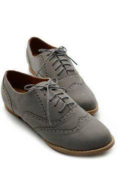 7d8b1c9b966d Grey Oxfords Size 7  49.00 Women Oxford Shoes