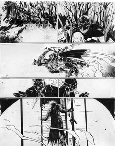 Batman Year 100 pg 182 by Paul Pope Comic Art