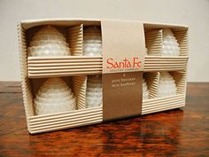 Mini Beehives, 8-Pack of Rolled Pure Beeswax Honeycomb Candles, Natural Ivory Santa Fe Beeswax Candles http://smile.amazon.com/dp/B00LUEAG2M/ref=cm_sw_r_pi_dp_PEcRvb1Q5DAWD