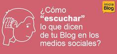 Cómo escuchar lo que dicen de tu blog en los medios sociales #Blogging http://blgs.co/G96U51