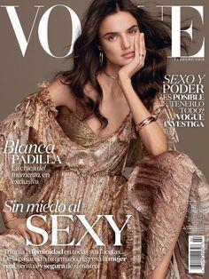 "she-loves-fashion: "" Blanca Padilla by Alvaro Beamud Cortes for Vogue Latin America February 2016 "" Fashion Magazine Cover, Fashion Cover, Vogue Magazine, Magazine Covers, Life Magazine, Vogue Spain, Vogue Russia, New York, Silk Floral Dress"