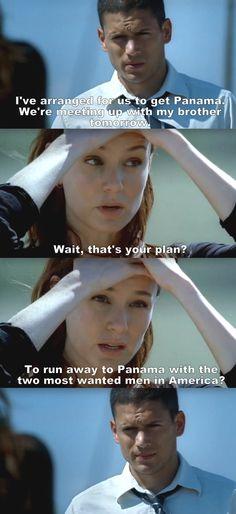 Prison Break S02E10 Michael & Sara.