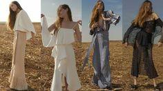 O Verão 2017 de Giuliana Romanno traz para sua alfaiataria, a nobreza do rayon, a renda e a seda, em franjas feitas à mão e montadas artesanalmente nas peças. Confira os looks na www.flashesefatos.com.br