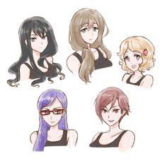Gender Blender!!!! My favorite is Haru and Makoto's Pic <3