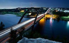 WALLPAPERS HD: Pennybacker Bridge Austin