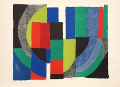 Patchwork Composition by Sonia Delaunay
