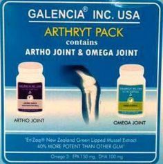 Buy Galencia Arthryt Pack Online at Best Price in India - BuyDirekt.com. Best supplement for arthritis, joint pains, knee replacement.