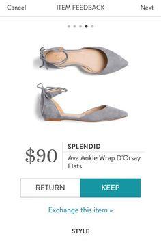 SPLENDID Ava Ankle Wrap D'Orsay Flats from Stitch Fix. https://www.stitchfix.com/referral/4292370