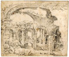 GTB I Coloseum Rome Rijksprentenkabinet Leiden