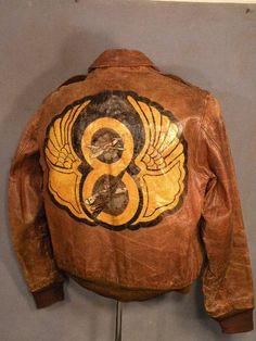 WWII painted Flight Jacket
