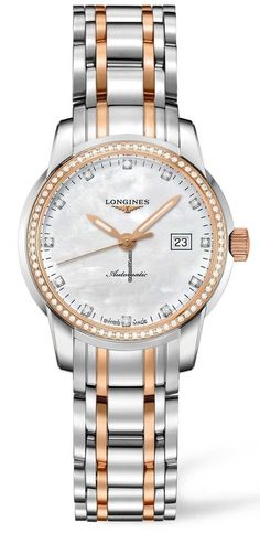 Longines LADY ROUND $4,189 #Longines #watch #watches Gold/Steel