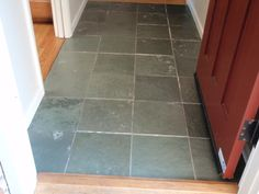 Slate tile cleaning is needed if you have slate tile Learn how to clean slate and seal slate tile Have us clean your slate floor in Tampa Bay Area or San Jose CA Cleaning Slate Floors, Slate Flooring, Deep Cleaning, Spring Cleaning, Cleaning Hacks, Floor Grout, Tile Grout, Tile Floor, Cinderella Cleaning