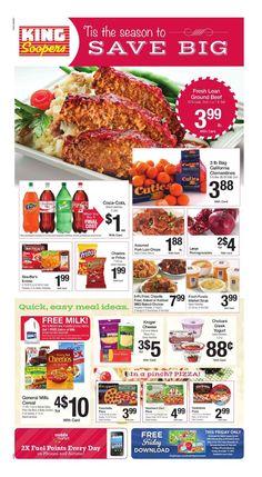 King Soopers weekly ad November 27 - December 1, 2015 - http://www.olcatalog.com/grocery/king-soopers-weekly-ad.html